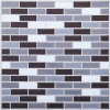 Pearl Mini Brick Vinyl Backsplash Tile 3D Wall Decal