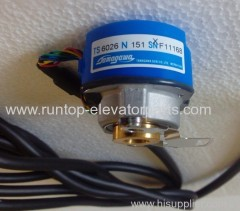 Hitachi elevator parts encoder TS6026N151