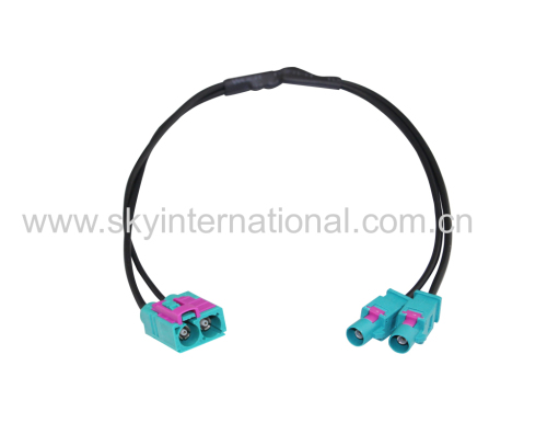Dual Fakra Male To Female For VW RNS 210