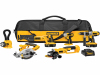 Power tools for sale and cordless drill sale DeWalt DCK655X 18V XRP 6 Tool Combo Kit Impact Driver