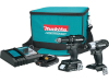 Power tools for sale and cordless drill sale Makita CX200RB 18V LXT Sub-Compact Brushless Drill / Impact Driver Kit