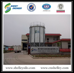 Small capacity 50ton grain storage steel silo