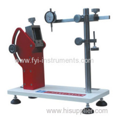 Insole Backpart Stiffness Tester