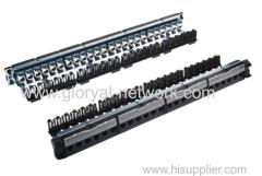 19 Inch UTP cat6 24 port legrand type patch panel UTP OR STP FTP