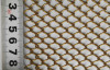 Decorative chain link mesh
