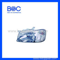 Head Lamp With Parking Lamp R 92102-25010 L 92101-25010 For Hyundai Accent '2000-'2001