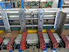 1227 Full Automatic Down Folding Corrugated Cardboard Folder Gluer Kelite Packing Machinery