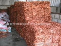 Copper Wire Scrap 99%