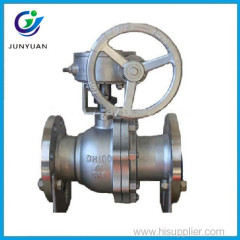 handwheel carbon steel medium pressure 2pc flanged ball valves