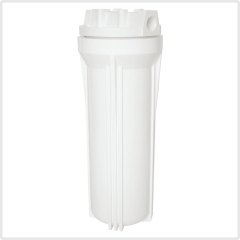 single o ring white PP Filter Housing