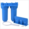 double blue kitchen pipe Water purifier