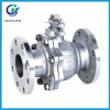 flanged end stainless steel casting ball valve
