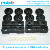 china nursing robot silicone rubber parts CNC machining suppliers