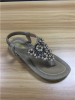 Lady elastic band flat sandals