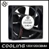 DC Axial Flow Exhaust Fan 5V 12V 24V Plastic Blade 120X120X38mm High Quality Cooling Fan