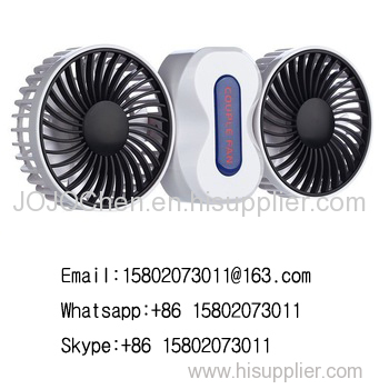 New mini portable multifunction Rechargeable Couple Fan