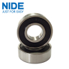 Spherical surface electric motor ball bearing