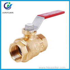 Inline Female Lever Two Piece Bronze Ball Valve