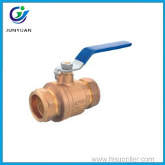 "Bronze Compression Ball Valve 1/2""-1"""