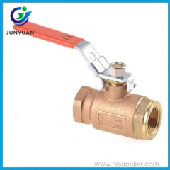 Price china supplier female thread NPT water bronze valve