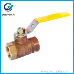 "Forged brass cap from 1/4""-4'' PTFE seats 600PSI bronze ball valve"
