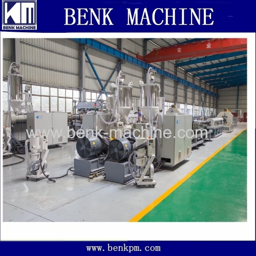 hdpe single wall corrugated pipe manufacturing machine