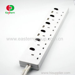 surge protector multi plug with USB