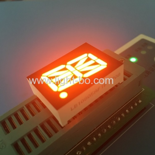 Ultra blue 0.8  16 segment led display common anode for process control