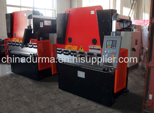 E21 NC WC67K 40T 1600mm cnc hydraulic used press brake sheet metal cutting and bending machine
