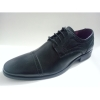 Men business shoes with laser elements
