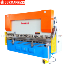 stainless steel plate bender hydraulic press brake machine CNC sheet metal bending machine