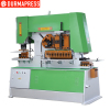 110T Metal Hydraulic Ironworker combined punching and shearing machine