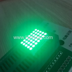 "Pure Green 0.7"" 5*7 dot matrix led display row cathode column anode for home appliance"