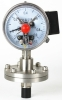 SS electric contact diaphragm pressure gauge