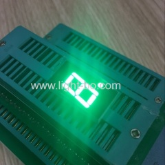 "Pure Green 0.4"" common anode single digit 7 segment led display for home appliance"