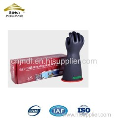 Class 3 latex safety hand glove electrical insulation gloves