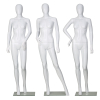 Full Body Ghost Stand Plastic Oem Manufacturer Glossy White Black Head With Shoulders Sports Female Mannequins