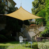 Beach Awning Customized Waterproof Sun Shade Sail With PU Coated Used As Garden Awning