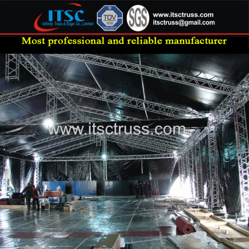 TUV Certified Aluminum Lighting Truss Rigging Structure