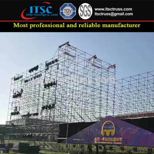 Truss Rigging with Stage Lighting Scaffolding (Real Factory in Guangzhou)