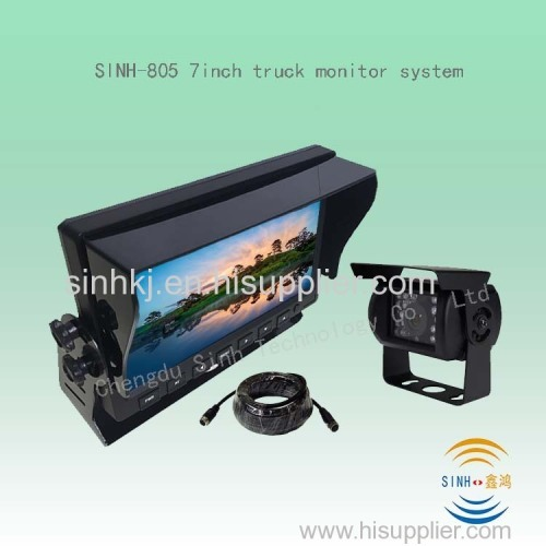 latest reversing camera system with 7inch digital LCD monitor rear view camera ideal for truck bus