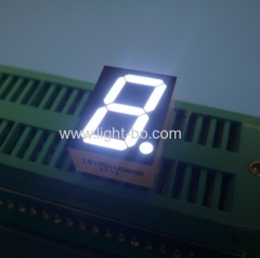"Ultra white common cathode 0.56"" dual digit 7 segment led display for instrument panel"