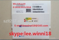 China 100% Online activated Win7/8/8.1/10 Pro Computer Software key OEM Coa Sticker