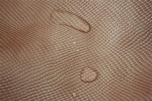 Snake printed new design pvc leather for shoes
