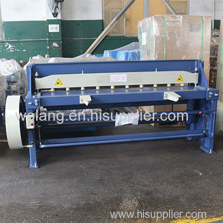Motor Driven Shear Machine