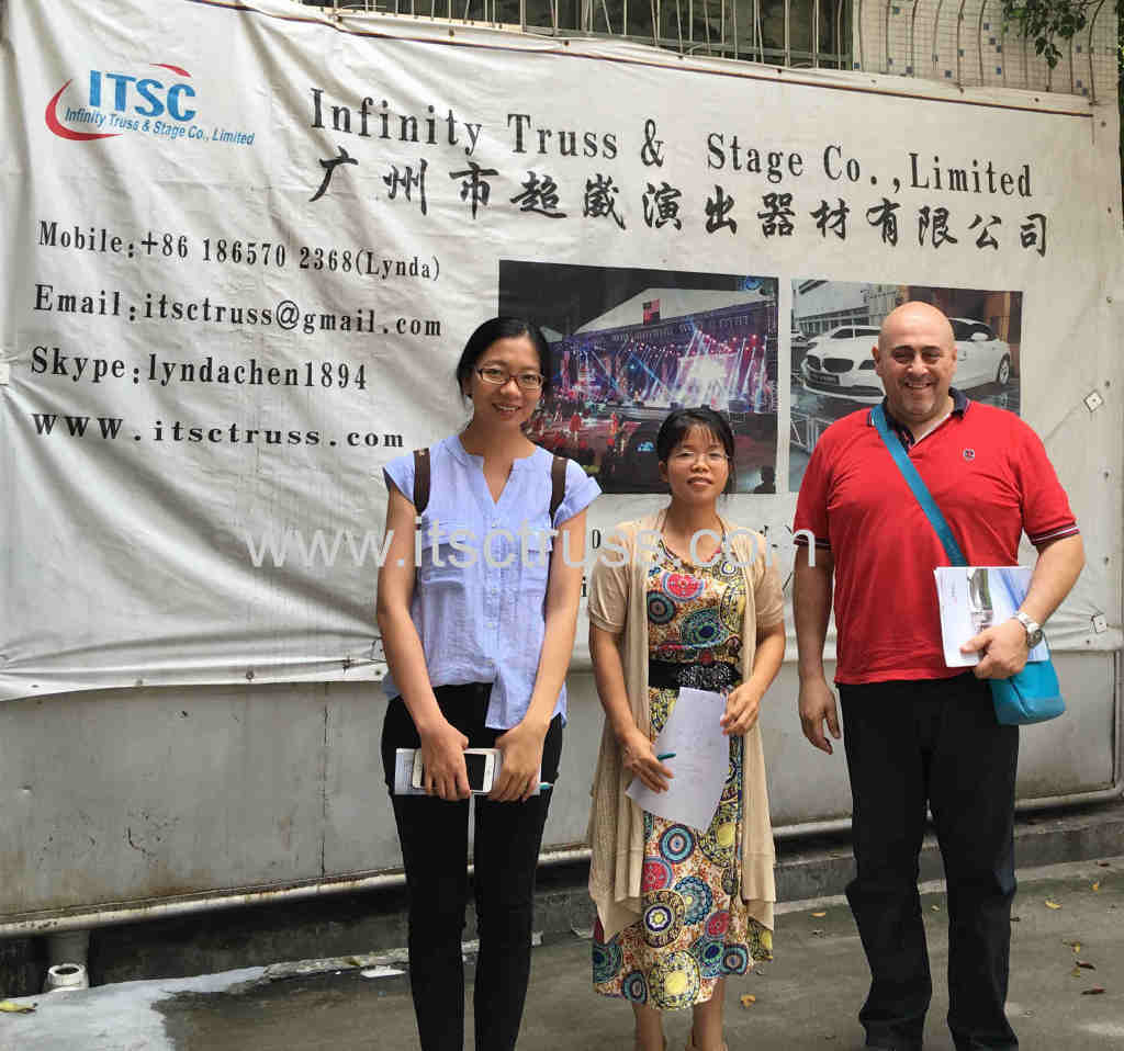 Walid Sakr  and Kelly are welcome to visit ITSC truss