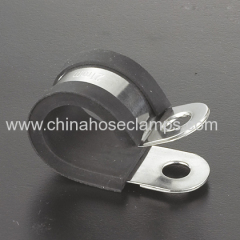 Metal Pipe Rubber Fixing Clamp