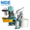 Fully automatic aluminum armature die casting machine with four working station