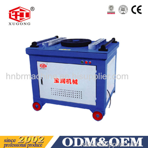4KW steel bar bending machine with high quality