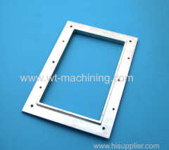 Aluminium display frame parts
